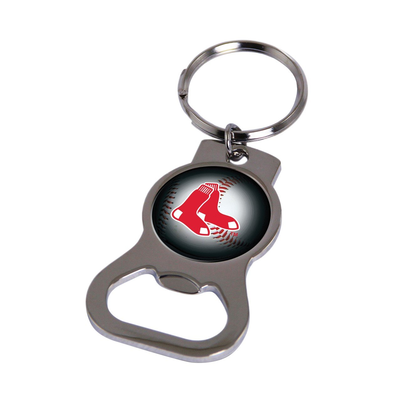 MLB Boston Red Sox Bottle Opener Key Ring by Rico Industries