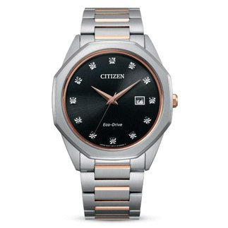 Citizen Watch 12 Diamond Rose Gold-Tone