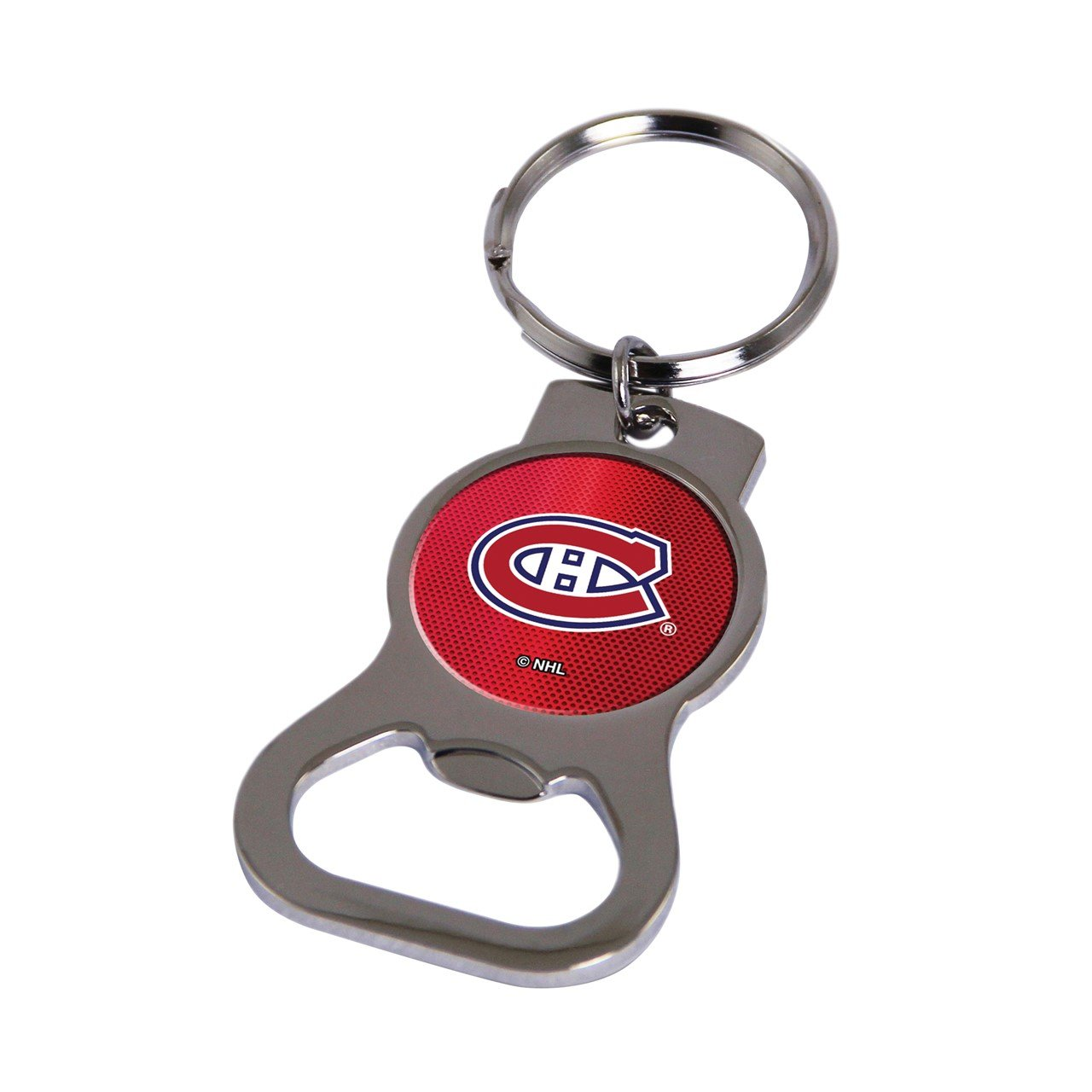 NHL Montreal Canadiens Bottle Opener Key Ring by Rico Industries