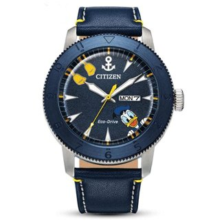 Citizen Mickey Mouse Watch Blue ION Plated Bezel
