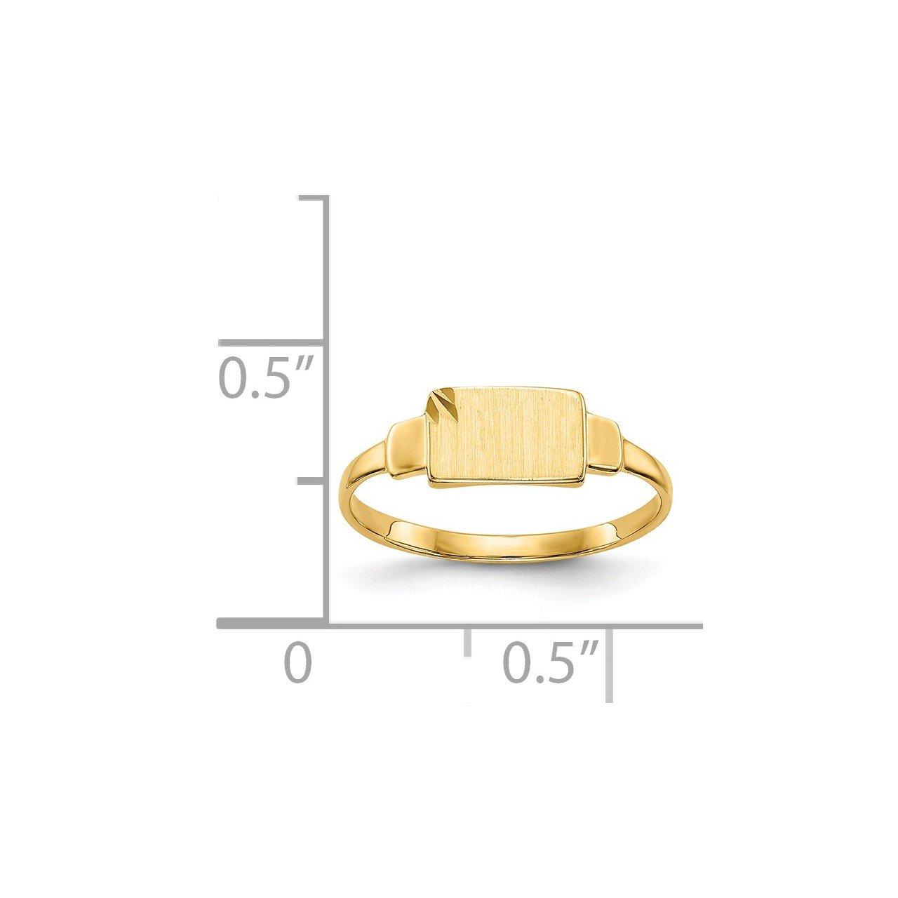 14k Signet Ring-2