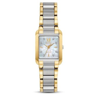 Citizen Watch BIANCA Beveled Sapphire Crystal 8 Diamonds