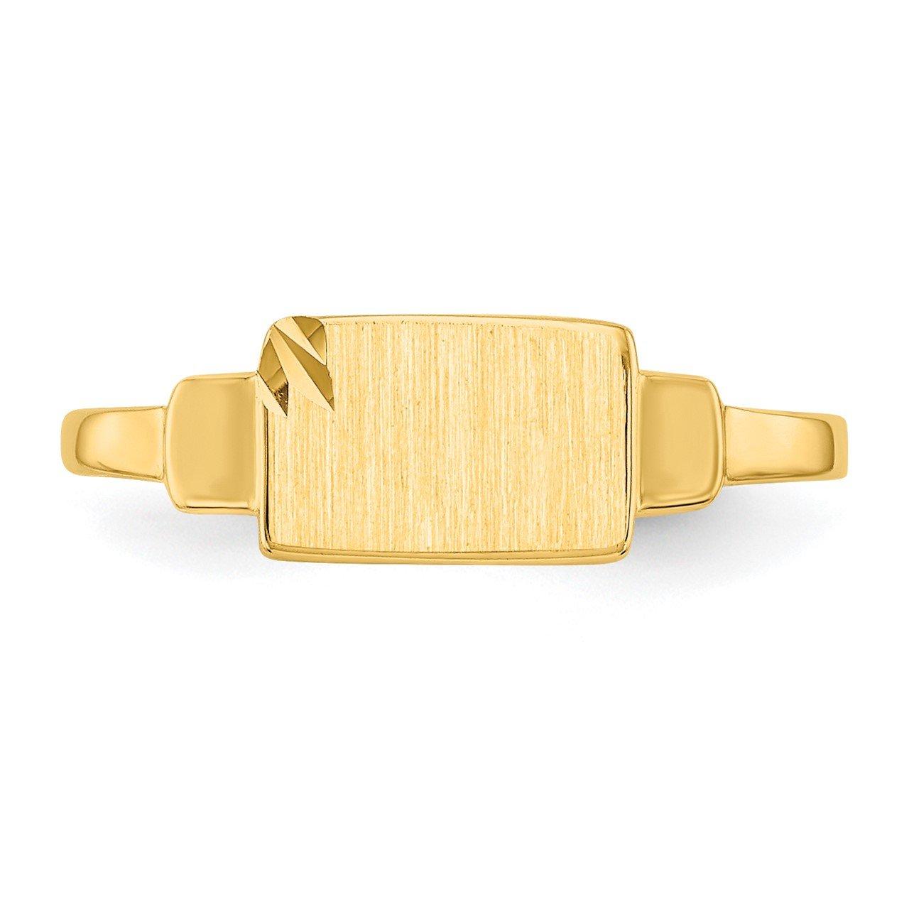 14k Signet Ring-4