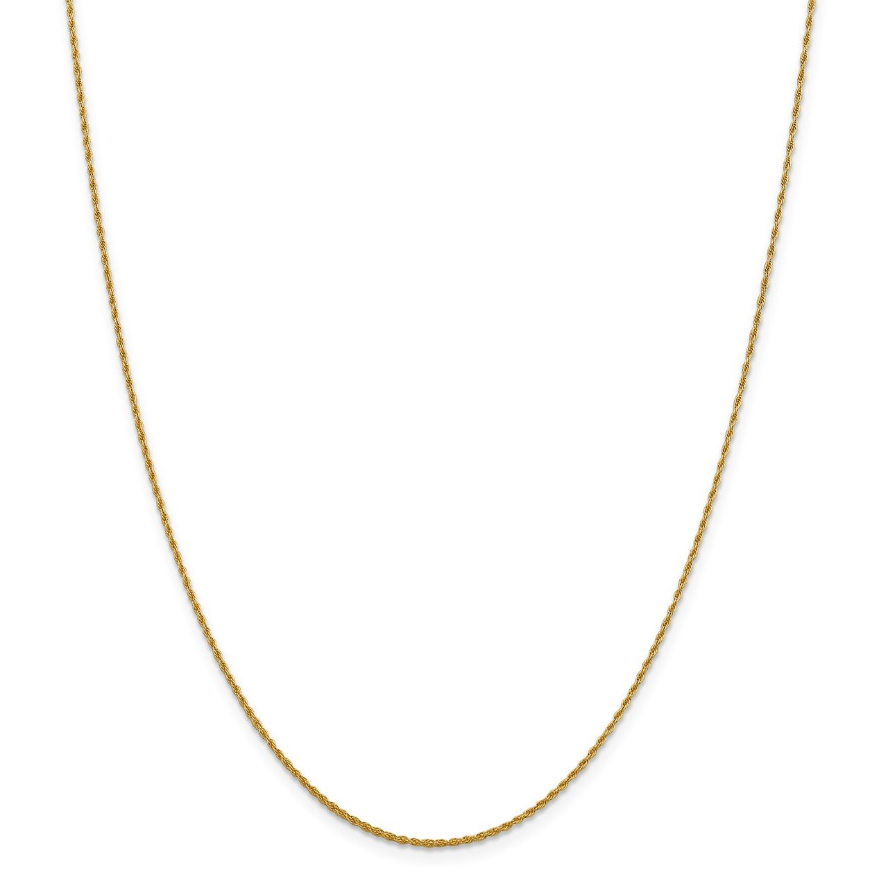Leslie's 14K 1.3mm Loose Rope Chain