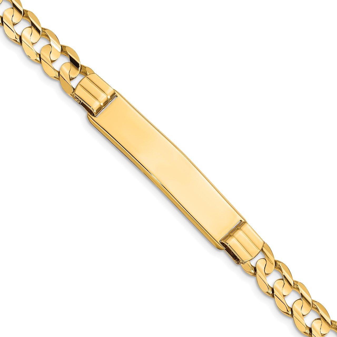 14k Curb ID Bracelet