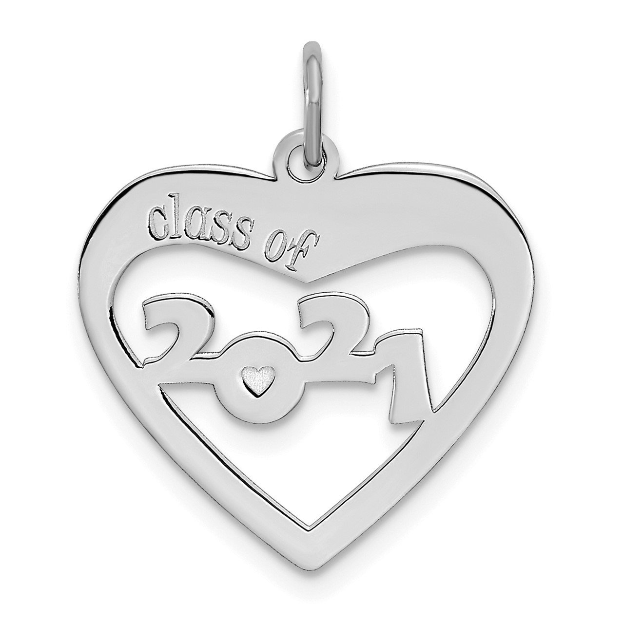 14kw CLASS OF 2021 Heart Cut Out
