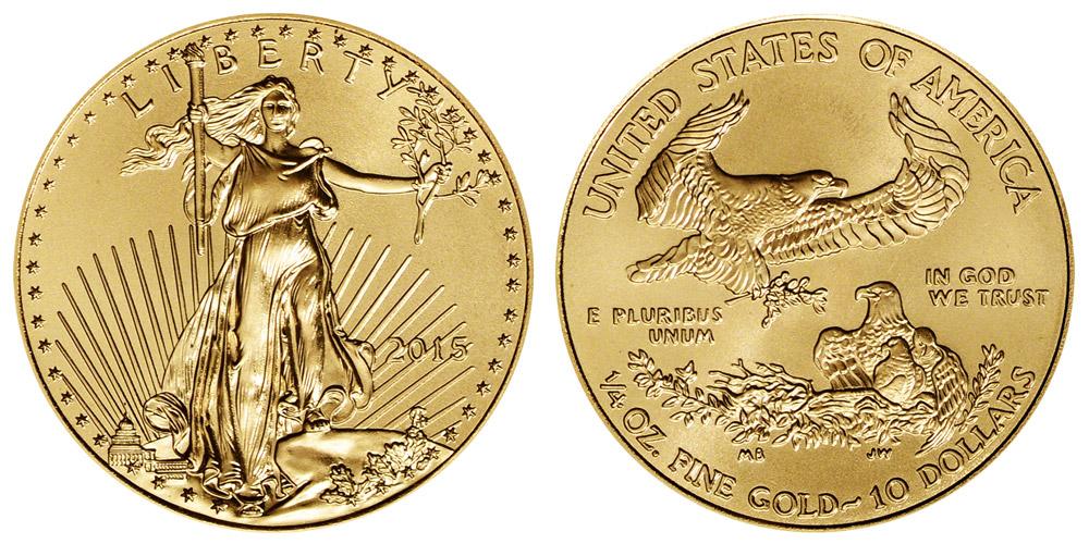 American Eagle $10 Quarter Ounce Gold Coin