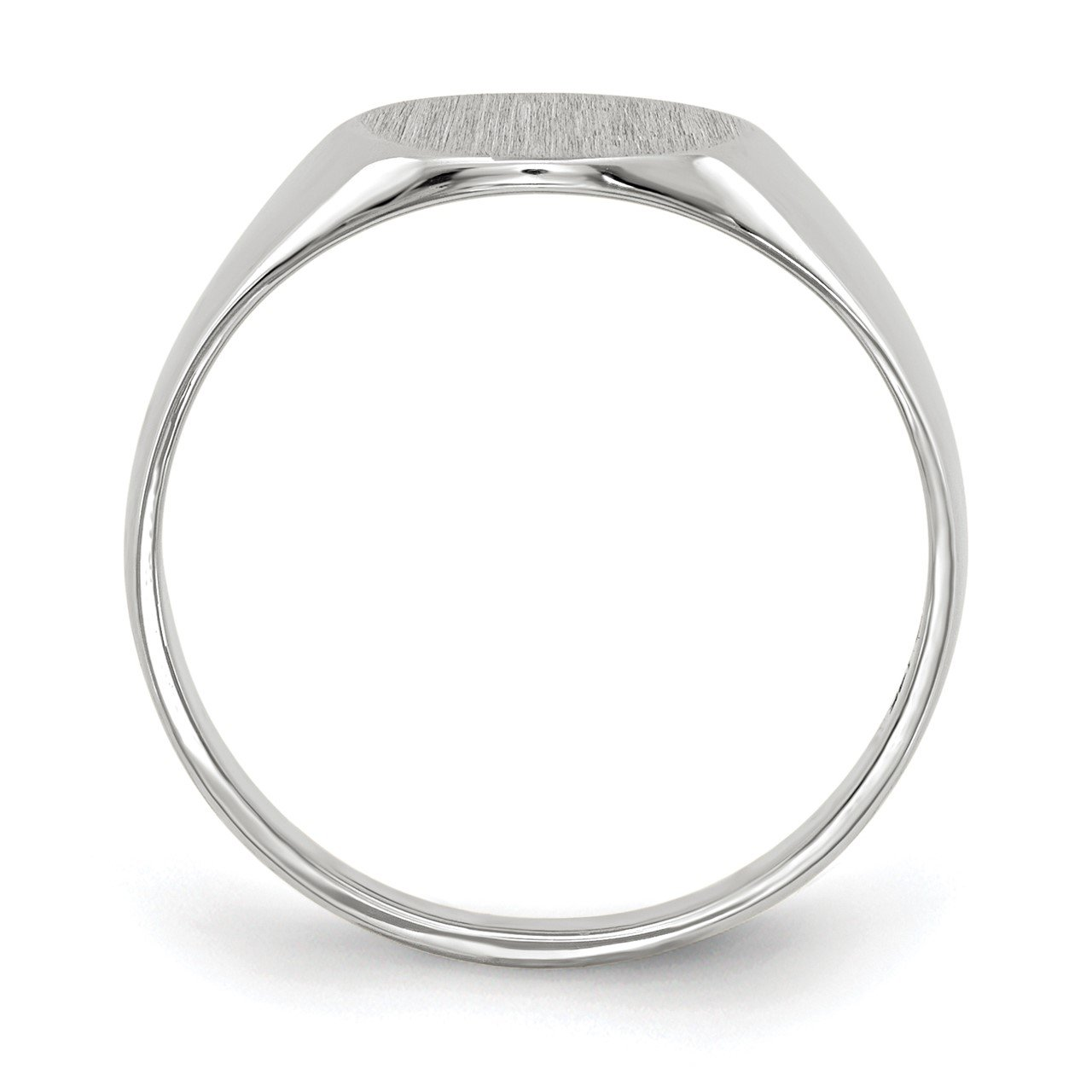 14kw 9.0x9.5mm Closed Back Signet Ring-1