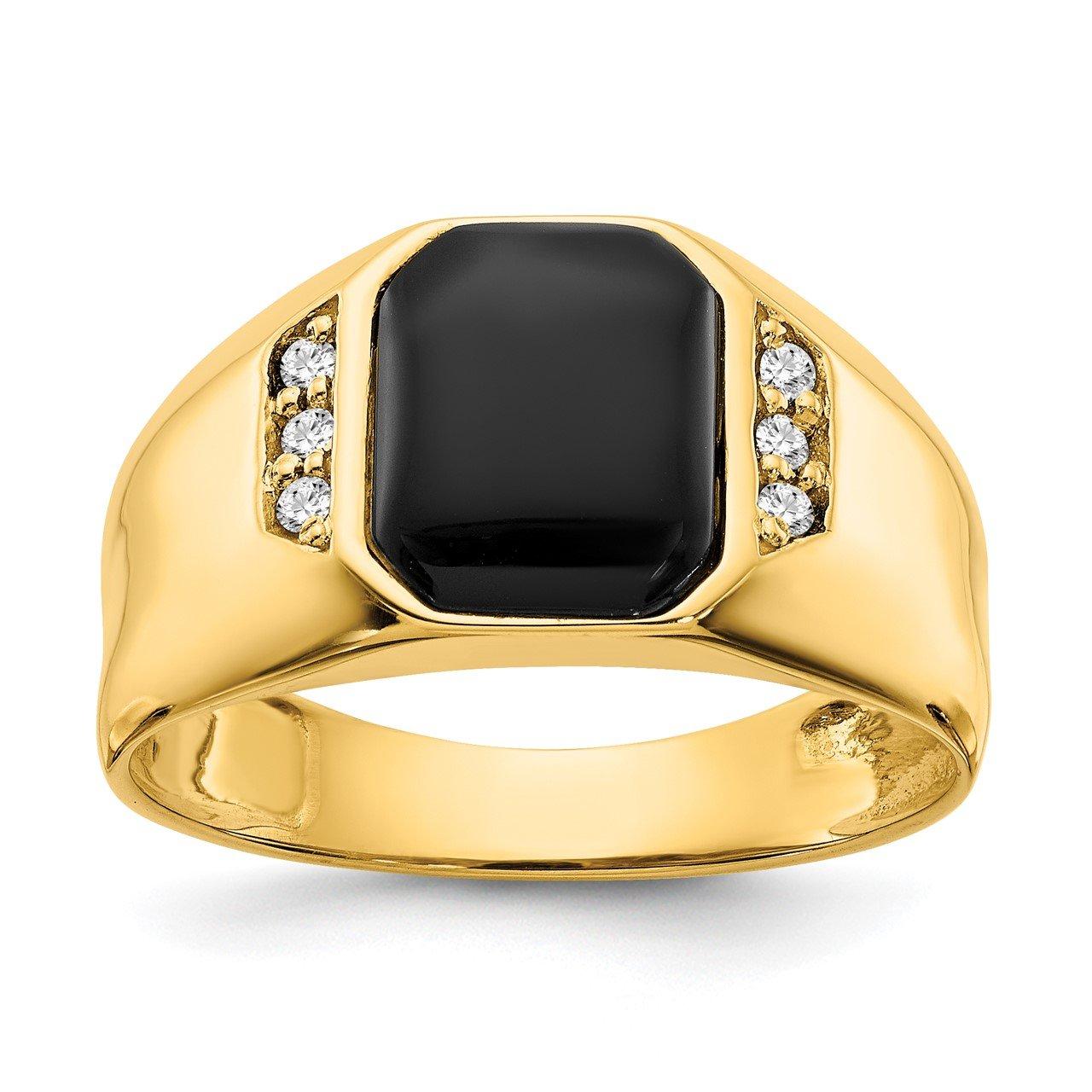 14k A Diamond Ring