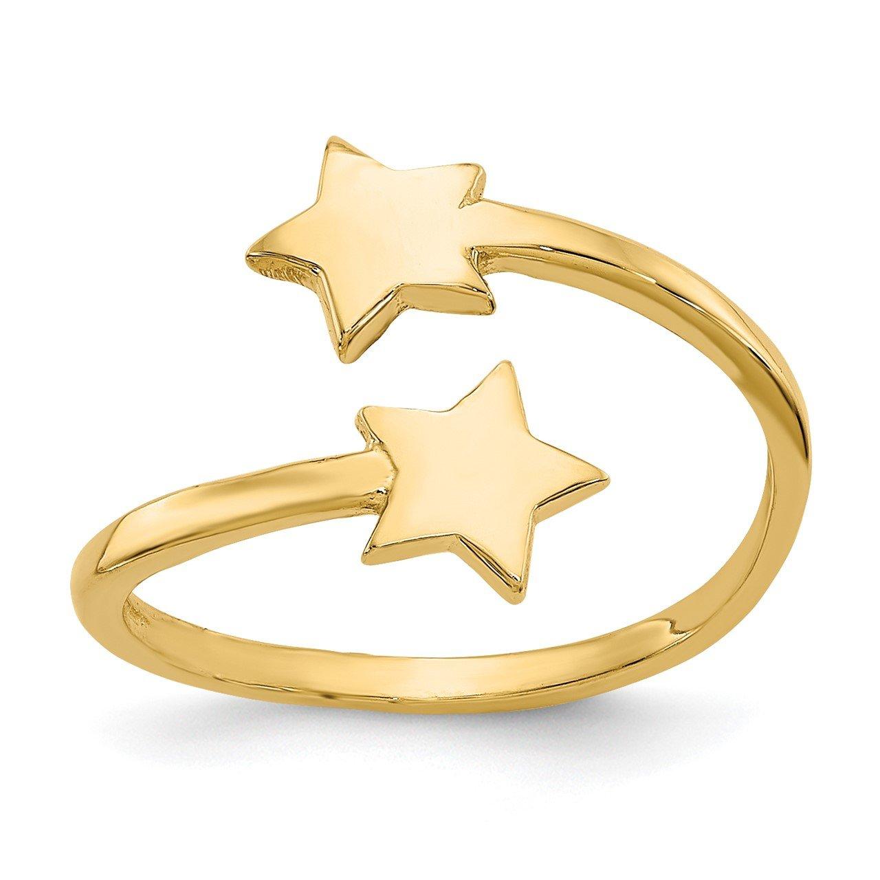 14k Star Toe Ring