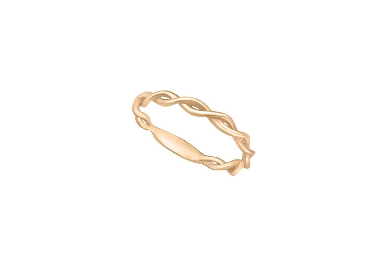 14KR STACKABLE BAND TWISTED NO DIAS