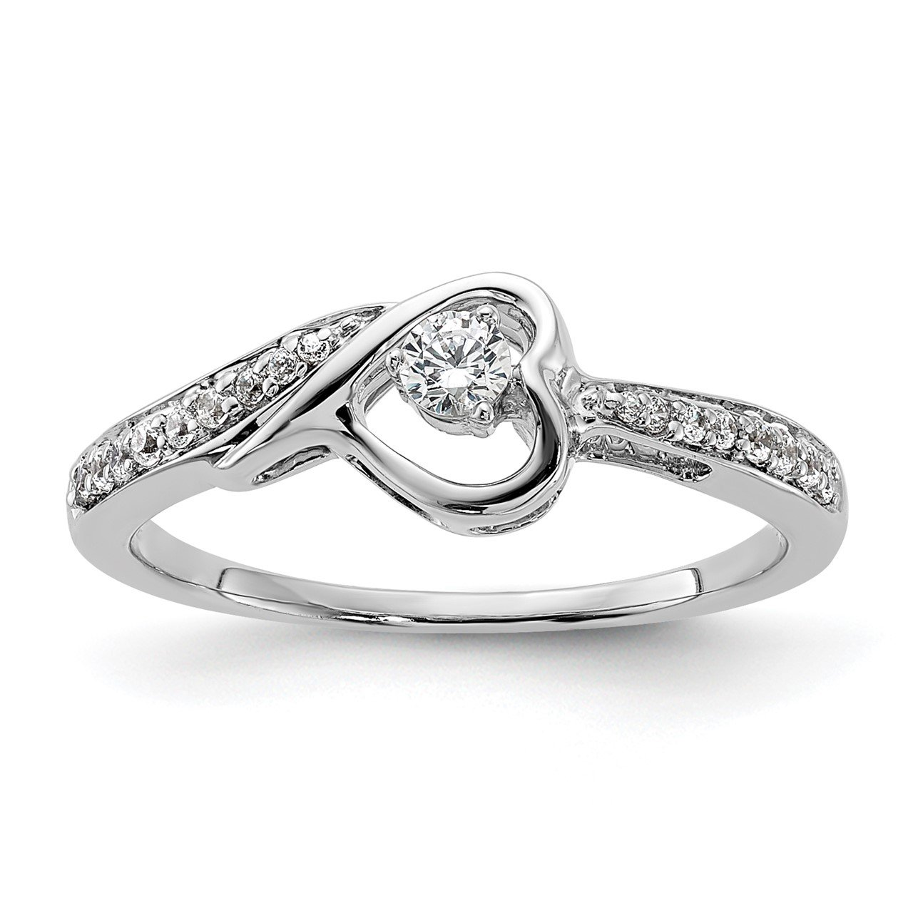 14kw Lab Grown Diamond SI1/SI2, G H I, Promise Ring