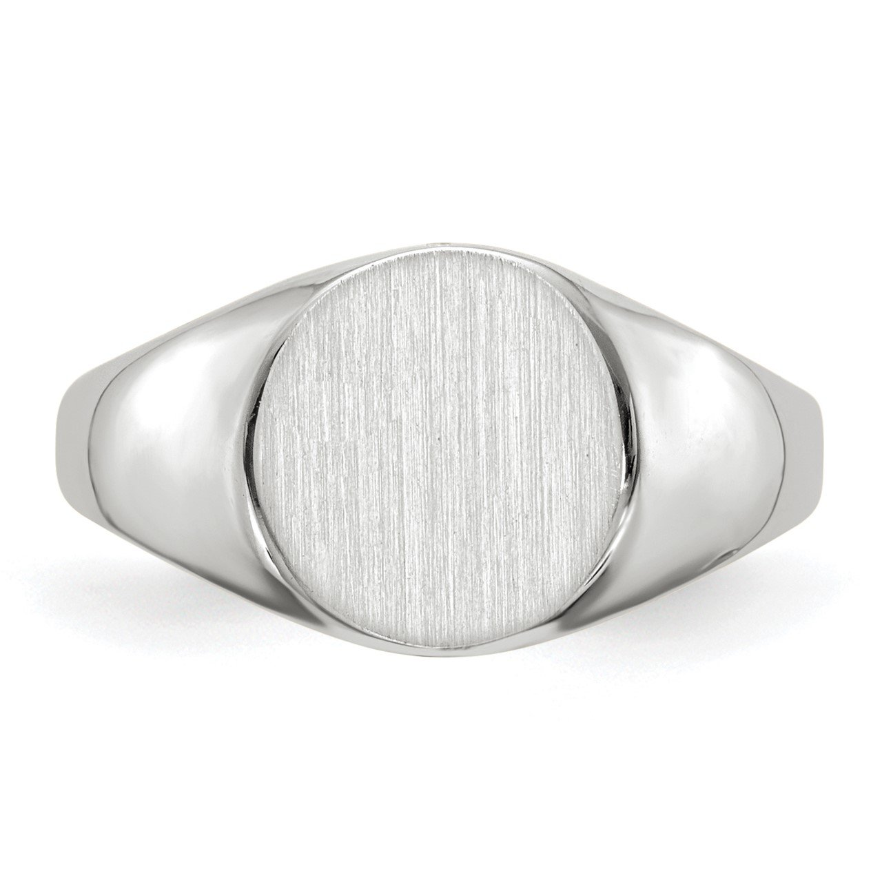 14kw 9.0x9.5mm Closed Back Signet Ring-3