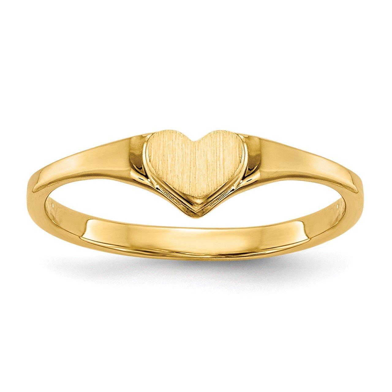 14k Children's Heart Ring