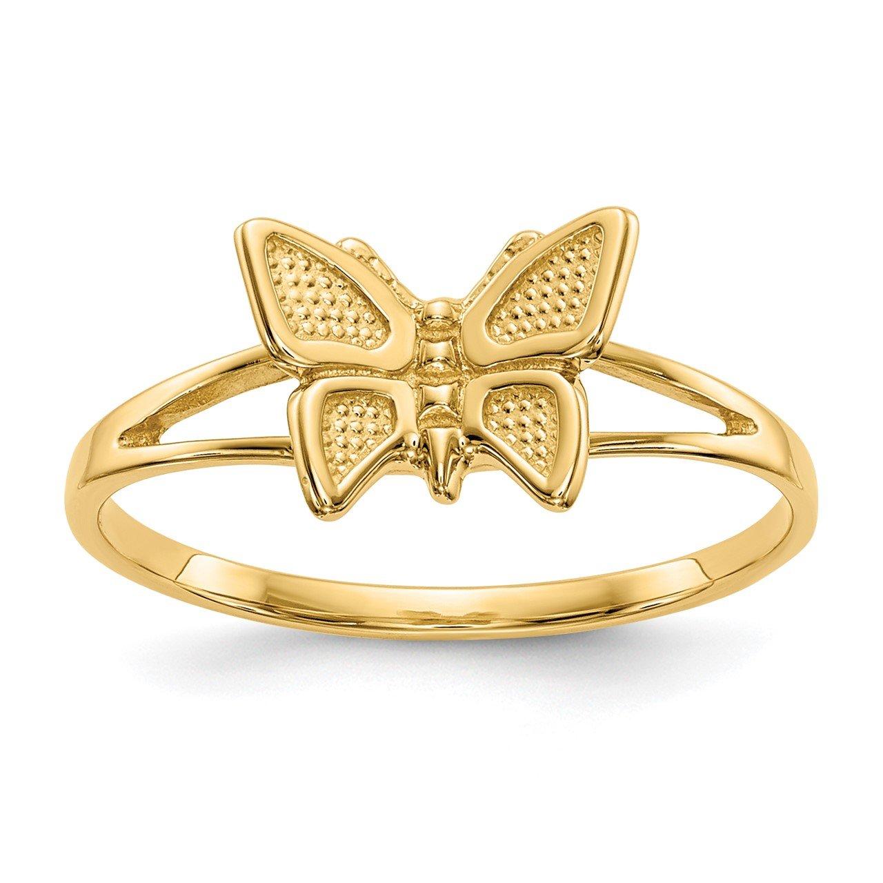 14k Children's Butterfly Ring