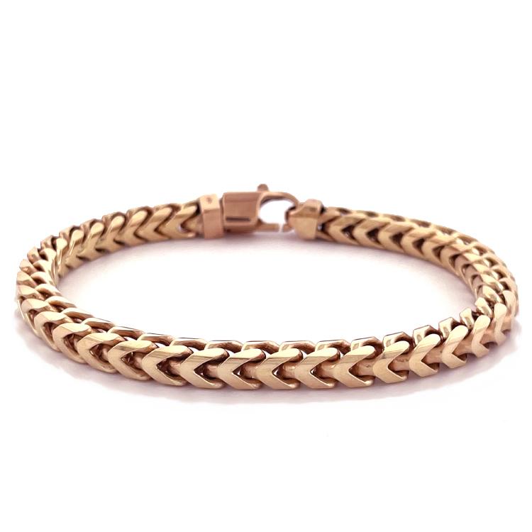 18k Rose Gold Men's Bracelet